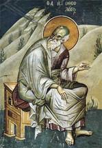 Icon of St. John Theologian - 14th c. Panselinos - (1JT09)