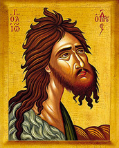 Icon of St. John the Baptist - 20th c. (1JB11)