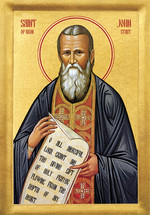 Icon of St. John of Kronstadt - 20th c. - (1JK10)
