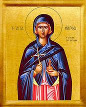 Icon of St. Martha - 20th c. - (1MA70)