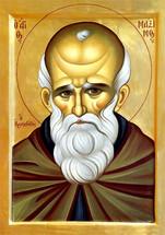 Icon of St. Maximos (Maximus) the Confessor - 20th c. - (1MA81)