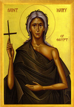 Icon of St. Mary of Egypt - 20th c. - (1MA76)