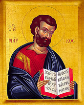 Icon of St. Mark the Evangelist - 20th c. - (1MA10)
