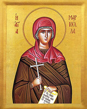 Icon of St. Markella - 20th c. - (1MA60)