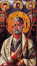 Icon of the Apostle Peter - 7th c. Mt. Sinai - (1PE10)