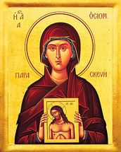 Icon of St. Paraskeva - 20th c. - (1PA20)