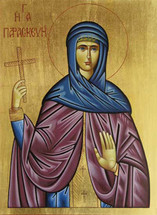 Icon of St. Petka (Paraskeva of Trnovo) - (SPA11)