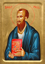 Icon of St. Paul the Apostle - 20th c. - (1PA32)
