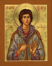 Icon of St. Peter the Aleut - (1PE15)