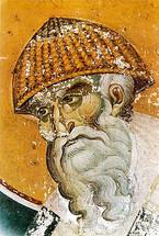 Icon of St. Spyridon (detail) - 14th c. Panselinos - (1SP11)