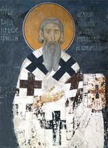 Icon of St. Sava of Serbia - 13th c. - (SSA11)