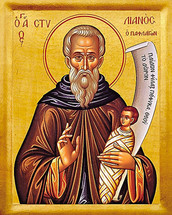 Icon of St. Stylianos - 20th c. - (1ST20)