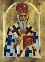 Icon of St. Nikolai Velimirovich - 20th c. - (SNI10)