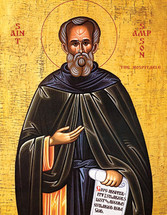 Icon of St. Sampson the Hospitable - (1SA20)