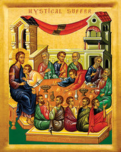 Icon of the Mystical Supper - 20th c. - (11G03)