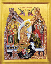 Icon of the Resurrection (Pascha, or Easter) - 21st c. (11K12)