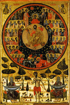 Icon of All Saints - 17th c. - (11O51)