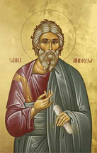 Icon of St. Andrew the First-called - Twelve Apostles Series - (1AN09)