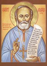 Icon of St. Alexis Toth - (1AL39)