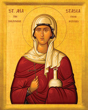 Icon of St. Anastasia - 20th c. - (1AN05)