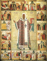 Icon of St. Alexius of Moscow - 15th c. - (1AL40)
