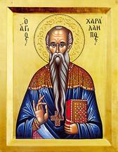 Icon of St. Haralambos - 20th c. (1HA10)