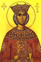 Icon of St. Helen the Empress - 20th c. - (1HE04)