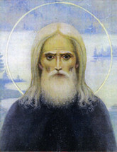 Icon of St. Herman of Alaska (Arctic Detail) - (1HE10)