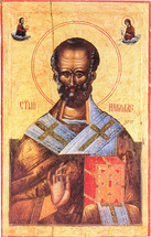Icon of St. Nicholas -16th c. Jovan - (SNS10)