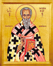Icon of St. Nikephoros - 20th c. - (1NI50)