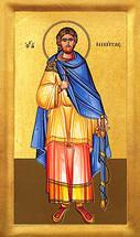 Icon of St. Nikitas - 20th c. - (1NI65)