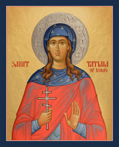 Icon of St. Tatiana - 20th c. - (1TA10)