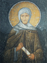 icon of St. Ephraim the Syrian - 14th c. (Panselinos) - (1EP12)