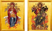 Icon Set: Christ the Just Judge - (MCT11)
