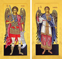 Icon Set: Archangels, Chief Princes - (MMG12)