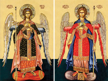 Icon Set: Archangels, Chief Commanders - (MMG10)