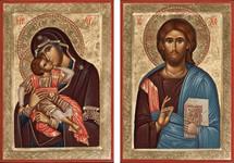 Icon Set: Sweet Kissing Theotokos - (MCT07)