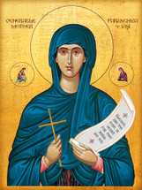 Icon of St. Paraschiva of Iasi - 20th c. - (1PA23)