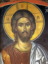 Icon of Christ the Almighty - 16th c. (Stavronikita) - (11H01)