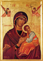 "Icon of the Theotokos ""All Pure"" - (12G64)"