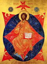 Icon of Christ The Lord Almighty - 20 c. - Russian (11S44)