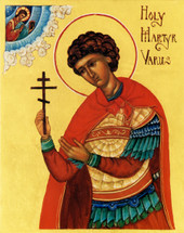 Icon of the Holy Martyr Varus (1VA01)