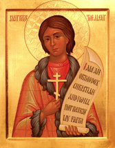Icon of St. Peter the Aleut - 20th c. - (1PE16)