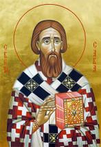Icon of St. Sava - 20th c. - (SSA09)