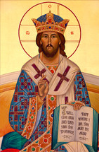 Icon of the Great High Priest - 20th c. Ellwood City - (11T00)