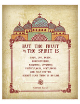 Fruits of the Spirit - (POS08)