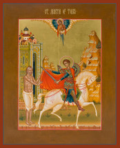Icon of St. Martin of Tours - 20th c. (1MA15)