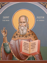 Icon of St. Justin (Popovich) of Serbia - (SJP13)