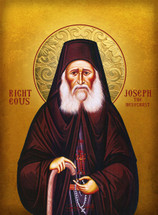 Icon of the Righteous Joseph the Hesychast, 21st c. - (SJO14)