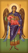 Icon of the Archangel Gabriel - 20th c. Athonite - (1GA17)